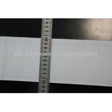 Bande de rideau simple, ruban de rideau blanc