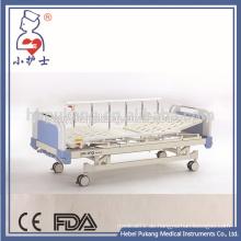 A5 Aluminiumlegierung manuelles medizinisches Krankenhausbett