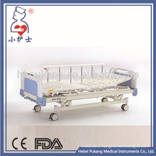Aluminium alloy side rail two crank hospital bed