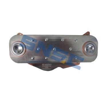 Motor Weichai repuestos núcleo enfriador de aceite 6150010334