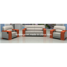 Japanese Style Office Sofa Bank Sofas (FOH-8088)