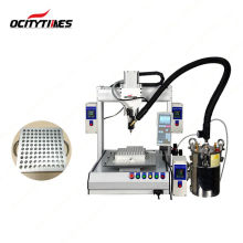 High efficiency 1200-1800pcs in a hour thick oil cartridge filler machine with heating device