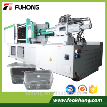Ningbo Fuhong thin wall fastfood container special servo 268ton 2680kn 268T high speed injection molding making machine