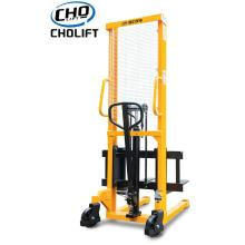 China for Battery Power Pallet Reach Truck 1T Standard Hand Stacker 3M lift height supply to Peru Suppliers