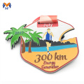 Aangepaste marathonfinisher met metalen medaille