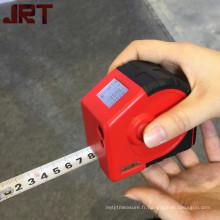 ruban de ligne laser mesurant 2-en-1 ruban à mesurer personnalisé avec laser