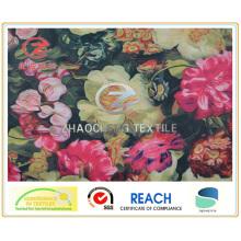 300T Poly Pongee Big Flower Printing (ZCGP061)