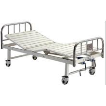 Krankenhaus-Möbel-bewegliches Voll-Fowler-Edelstahl-Kopf-Brett-Krankenhaus-Bett