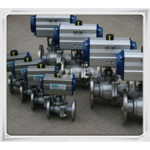 "Electric Actuation Wcb Floating Ball Valve (4"")"