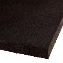 High Quality 50mm Black Gym Rubber Mat