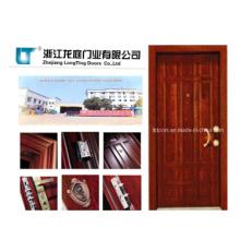 Porta blindada de Turquia com certificado ISO feita em Yongkang