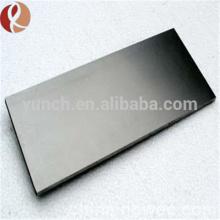 ASTM B776 alta pureza Hf Hafnium placa preço