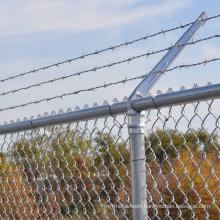 High Security Galvanized Chain Link Mesh Fencing for Canada, USA