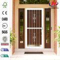 White Prehung Guardian Steel Security Door