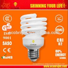 Novo! T2 Meia espiral completa lâmpada 20W 10000H CE qualidade