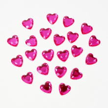 Heart Shape Rhinestone Sticker