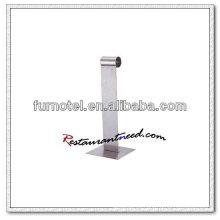 Soporte de menú de acero inoxidable T234 H280mm