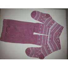 Criança algodão collants /Children moda calças justas