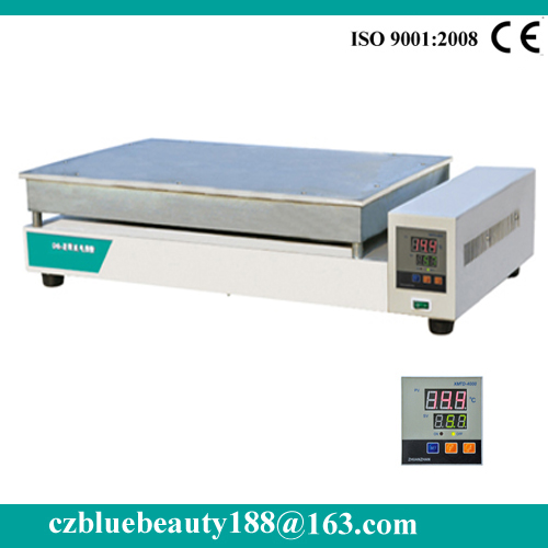 stainless steel thermostat lab hot plate