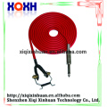 New Pro Red Long Clip Cord For Rotary Tattoo Gun Coil Machine Power Supply Kit