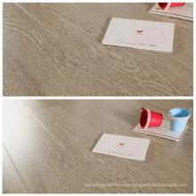 12mm Wenge estilo HDF laminado suelo con prueba de agua