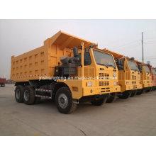 Sinotruk 6X4 50ton Tipper Truck 25m3 Mine Truck