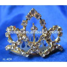 Crstal tiara comb (GWST12-121)