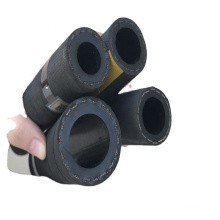 Flexible compress air rubber hose hot water hose for Russia market