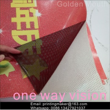 One Way Vision Window Film Sticker Dekaler