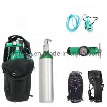 Medical Oxygen Aluminum Cylinders Set