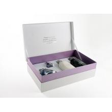 Caixa de embalagem de papel de cuidados com a pele de luxo com inserção