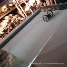 Tejido de alambre de acero inoxidable Tejido holandés / paño de alambre de acero inoxidable