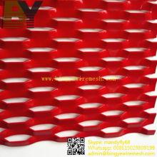 Eloxiertes Aluminium-Streckmetall-Schirm für Dekoration