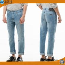 Factory OEM Men Fashion Cotton Stretch Slim Fit Brand Jeans