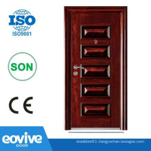 Sun Proof Iron Exterior door/Steel exterior door