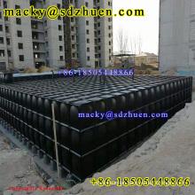 Big capacity BDF hot dipped galvanized underground water tank with low price