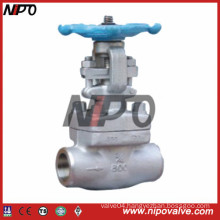Thread and Socket Welded Forged Steel Globe Valve