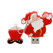 Factory Price for Cartoon Custom Cute Usb Flash Drive Christmas Santa Clause Shaped USB Flash Drive supply to Jordan Factories