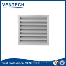 Sistemas HVAC Ventilación Rejilla meteorológica de aluminio