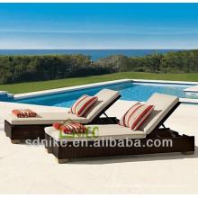 rattan sunbed outdoor furniture
