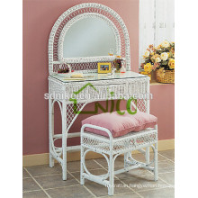 the latest hot sale indoor white rattan kids dresser