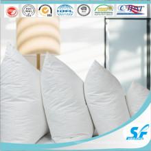 Branco 100% algodão tecido almofada inserir almofada caso