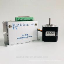 12V 24V 4000RPM 26W 42mm motor de corriente continua sin escobillas con controlador
