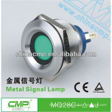 CMP Installation diameter 28mm Stainless Steel vandalproof LED Signal Lamp