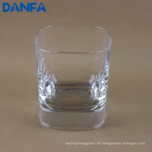 240ml Square Rocks Glas
