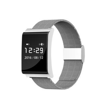 2017 Appareils Portables Moniteur de Fréquence Cardiaque Bande Bluetooth Activité Moniteur Bracelet Intelligent X9 Plus Bracelet de Pression Artérielle
