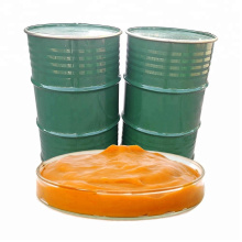 Yellow peach puree concentrate 220kg drum packing