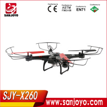 XK X260 5.8G Wifi FPV 2.4G 4CH RC quadcopter/aerocraft with 6-axis gyro with HD Camera rc drone with CF mode