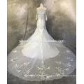 Beliebte Verkauf Illusion Hülse Brautkleider