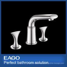 Novo design 3 buracos latão torneira torneira misturadora (pl206b-66s)